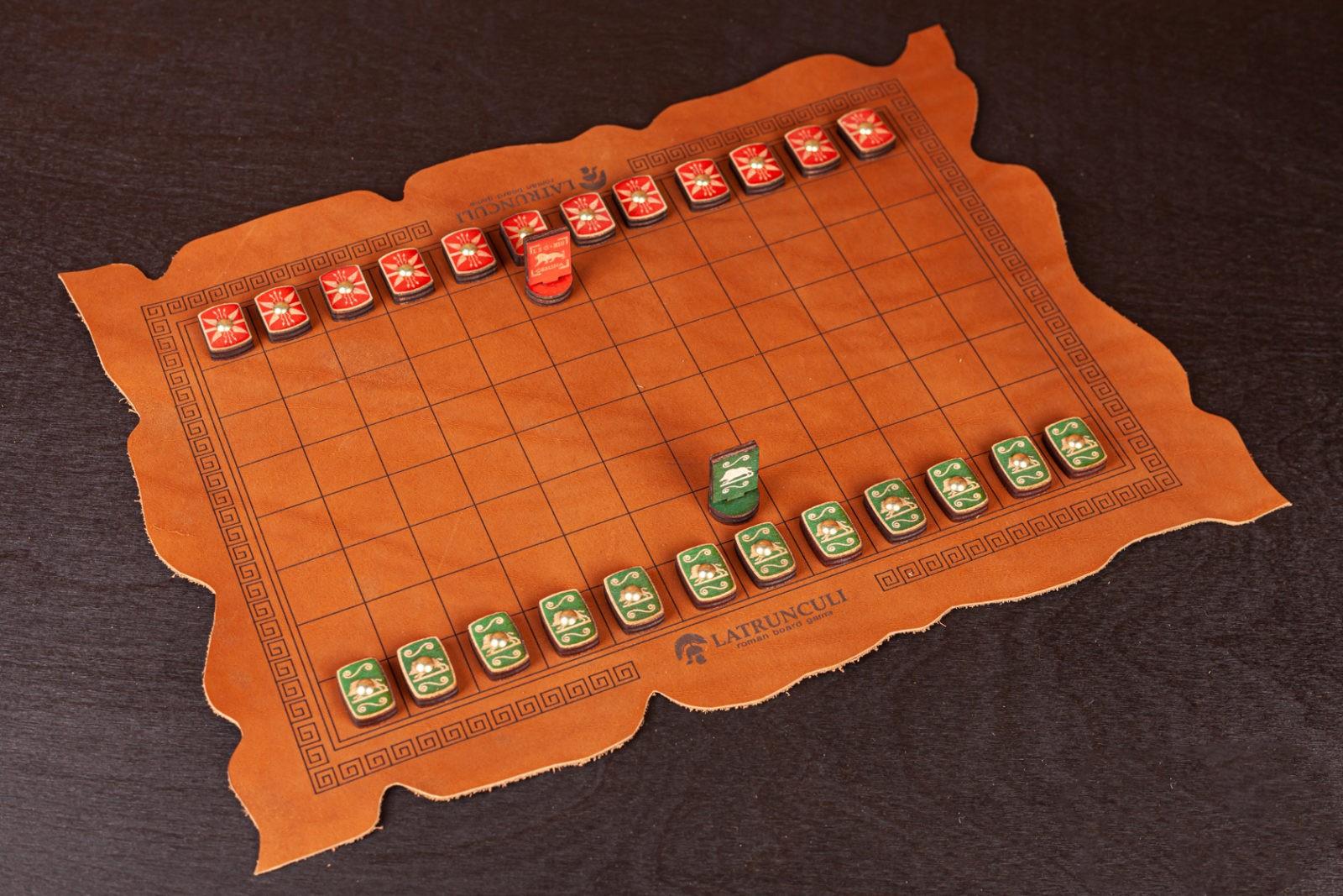 Древнеримская игра Латрункули