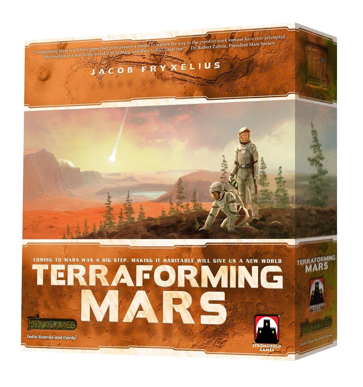 Terraforming Mars Big Box + 3D Tiles!